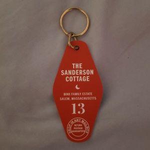 Accessories - Disney HocusPocus Sanderson Cottage Keychain NWOT